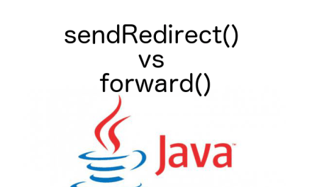Differences between sendRedirect and forward Method Execution Flow