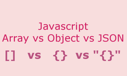 Array vs Object vs JSON in Javascript