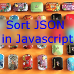 Sort JSON by Key or Value in Javascript