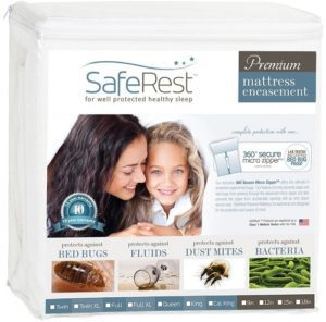 saferest premium zippered mattress encasement image
