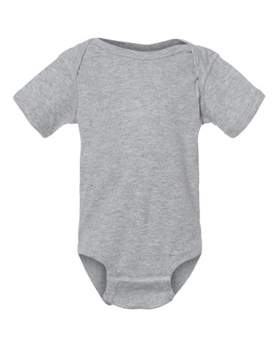 Heather Rabbitskin Onesie