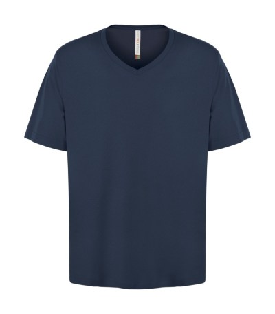 Customizable Unisex V-neck T-shirt - True Navy