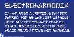 日本人だけ読めないフォント「Electroharmonix」とは?実際に解読してみた
