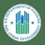 US Dept of Housing and Urban Development logo