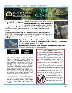 thumbnail of SMHA Oracle – June 2019
