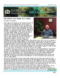 thumbnail of SMHA Oracle – December 2019