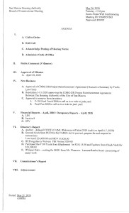 thumbnail of Board Meeting Agenda May 26 2020