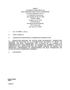 thumbnail of Agenda for SMHA Operating Public Facility Corporation – June 16, 2020