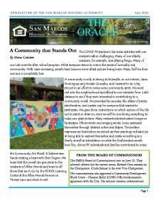 thumbnail of SMHA Oracle – July 2020