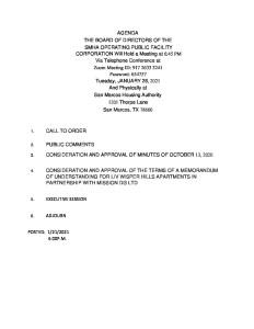 thumbnail of Board Agenda SMHA Operating PFC Agenda jANUARY 26 2021