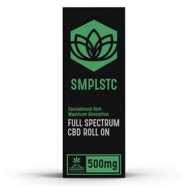SMPLSTC 500 mg Full SpectrumCBD Roll On