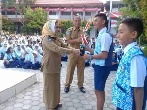 Juara 2 Renang antar pelajar Sulawesi Tengah