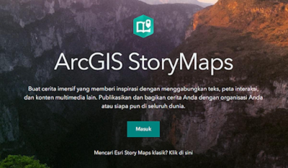 Memanfaatkan Webtool ArcGIS Story Maps untuk Pembelajaran Recount Text