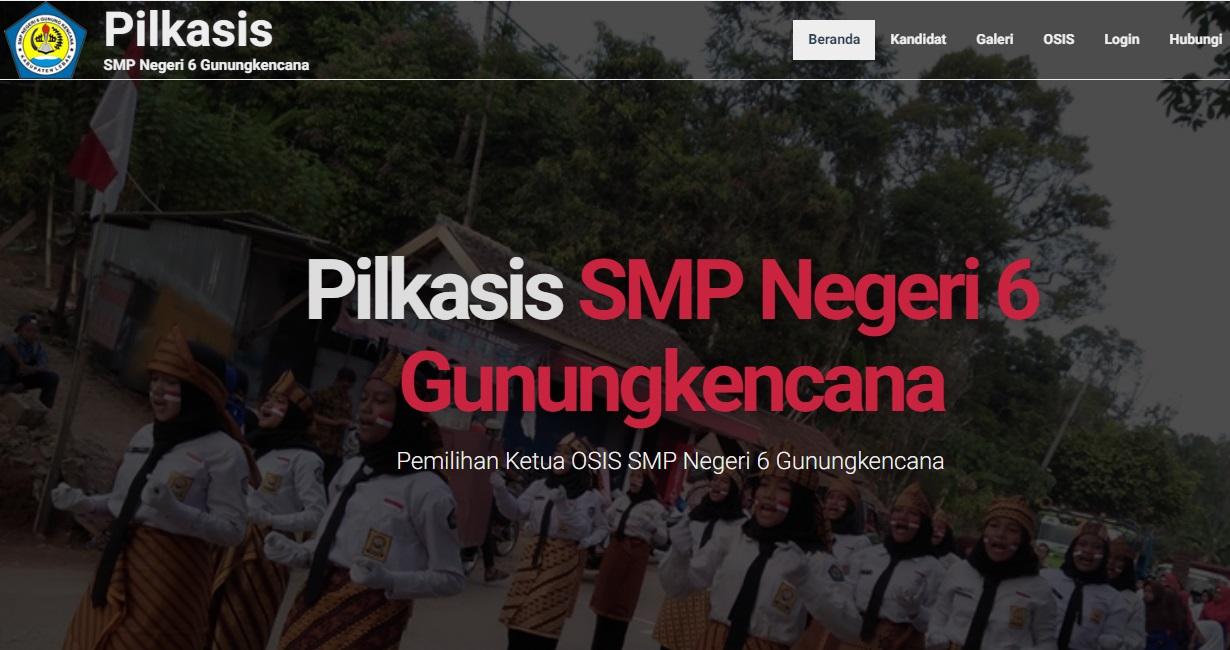 Web Pemilihan Ketua Osis