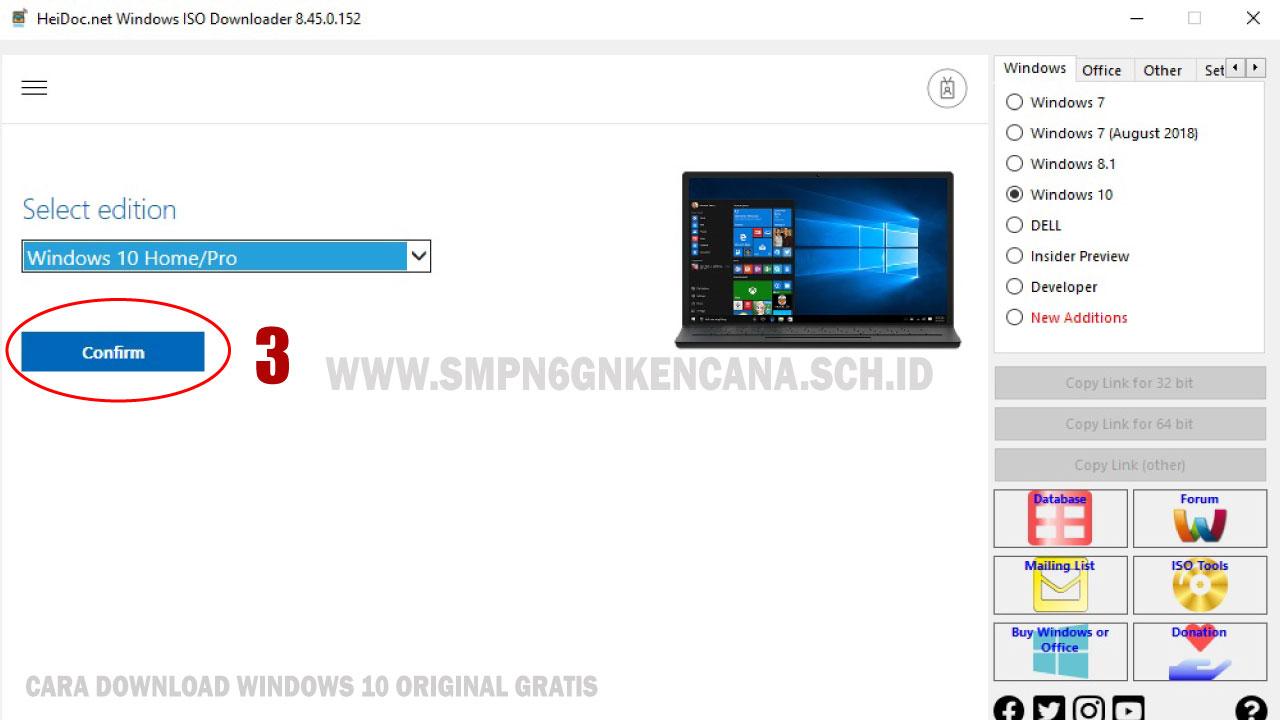 Cara Download Windows 10 Original Gratis