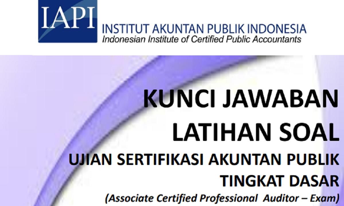 Jawaban Latihan Soal IAPI