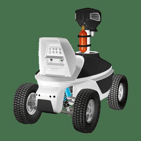 Mosquito Control Robot Mobile Propane Mosquito Trap