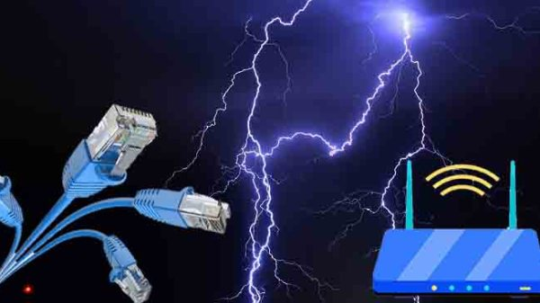 protect electronic devices from lightning
