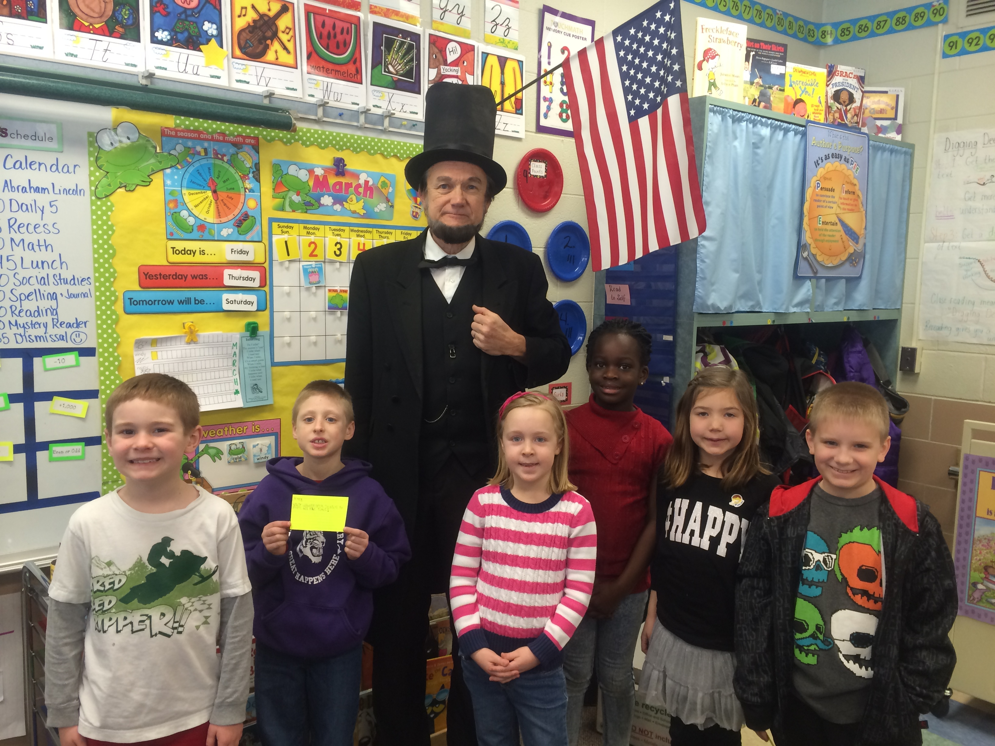 A Visit From Abraham Lincoln