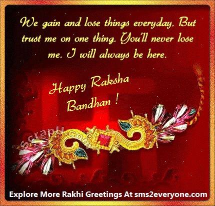 Rakhi SMS Messages Raksha Bandhan Greetings