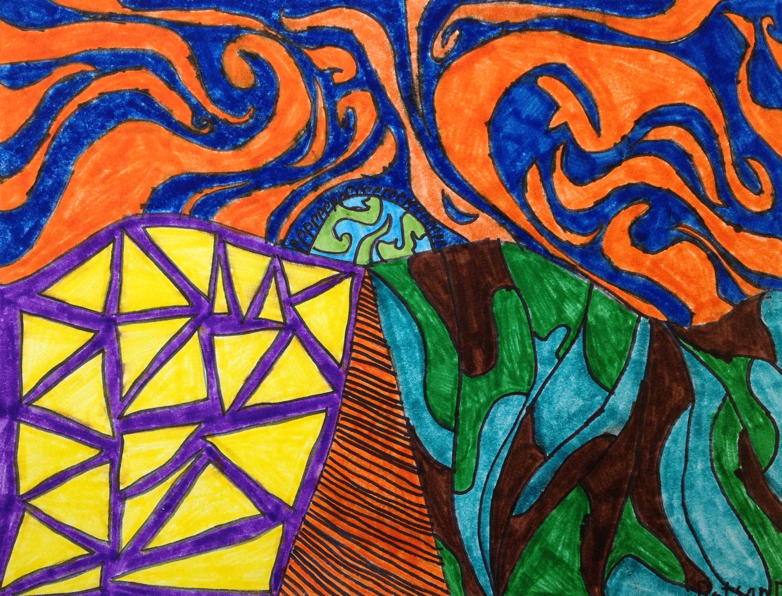 Rhythm In Art
