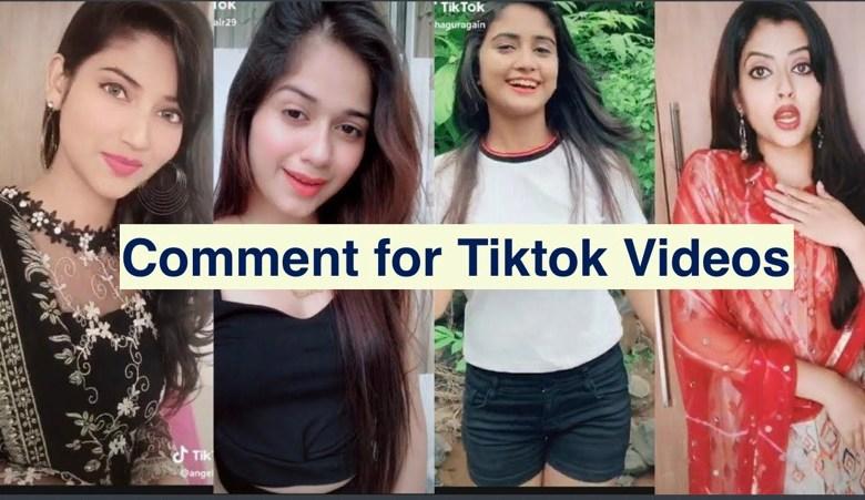 Comment for Tiktok Videos in 2021 Nice, Excellent Unique Compliments