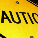 Sign reading caution as warning on use of corporate trustee stuctures in SMSFs