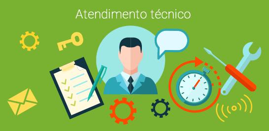 Contrato de manutenção - Atendimento técnico