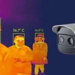 câmera térmica hikvision