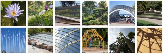 Tongva Park images