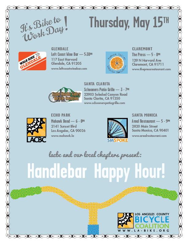 Handlebar Happy Hour Bike Week LA 2014