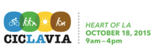 CicLAvia Heart of LA 10/2015