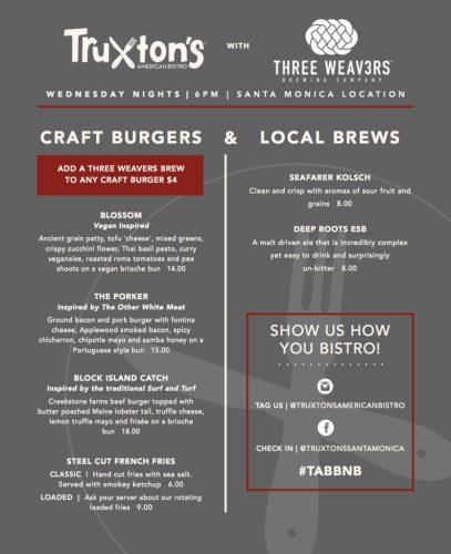 HandleBar Happy Hour: Truxton's