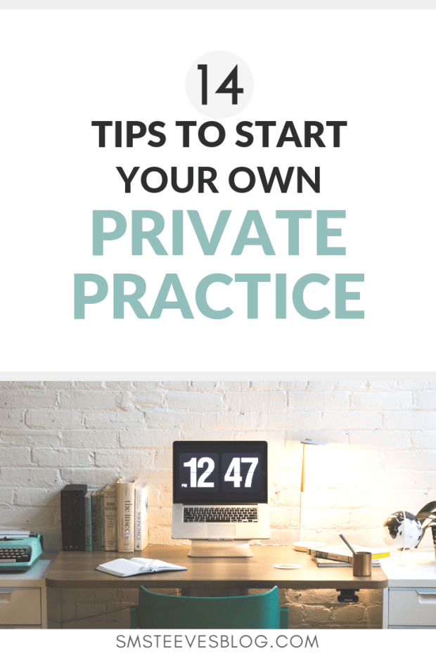 Are you a mental health therapist who is feeling burnout and overwhelmed? Do you want to start a private practice but have no idea where to start? Learn the steps to take to start your own therapeutic private practice. #mentalhealth #socialwork #privatepractice #therapist #counseling