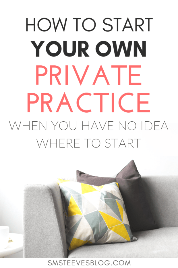 Are you a mental health therapist who is feeling burnout and overwhelmed? Doyou want to start a private practice but have noidea where to start? Learn the steps to take to start your own therapeutic private practice. #mentalhealth #socialwork #privatepractice #therapist #counseling