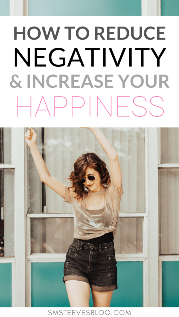 Want to lead a happier, healthier, more positive life? Then this post is for you! Learn how to reduce negativity and increase happiness in your daily routine! | spiritual wellness | detox negativity | be happy | social media | healthy mindset | healthy mind | peace | anger | choose joy | gratitude #happiness #depression #mentalhealth #mindset #anxiety #wellness