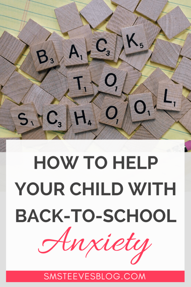 Tips and ideas for parents on how to help children reduce anxiety and stress around transitioning back to school! #children #anxiety #parenting #advice #mentalhealth