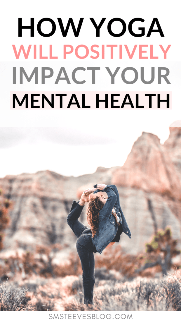 Have you ever wondered about the healing benefits of yoga for your mental health? Yoga is one of the best ways to reduce anxiety and depression as well as improve sleep and mindfulness. Learn more about the healing benefits of yoga in this blog post! #yoga #workouts #mentalhealth #tips #fitness #anxiety #mindfulness #depression #wellness