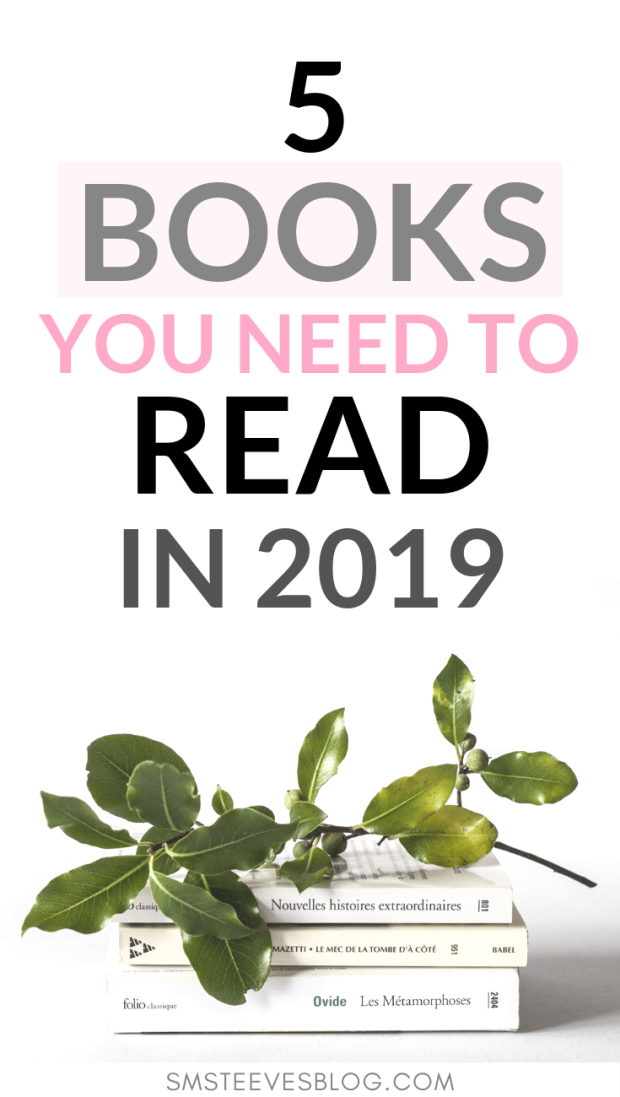 If you're looking for books to read around business,entrepreneurship, or personal growth then check out this post with my top 5 book recommendations for this year. These books will help you feel motivated, inspired, and ready to take on the next chapter in your life. #reading #books #business #entrepreneurship #personalgrowth