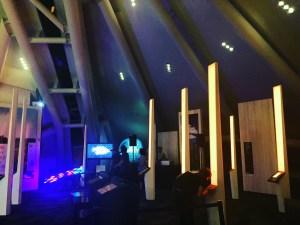 Light Cruiser on Display at Denver Botanic Gardens during a Create Denver Meet-up