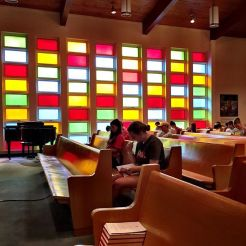 Quiet Time in the chapel at The Salvation Army.