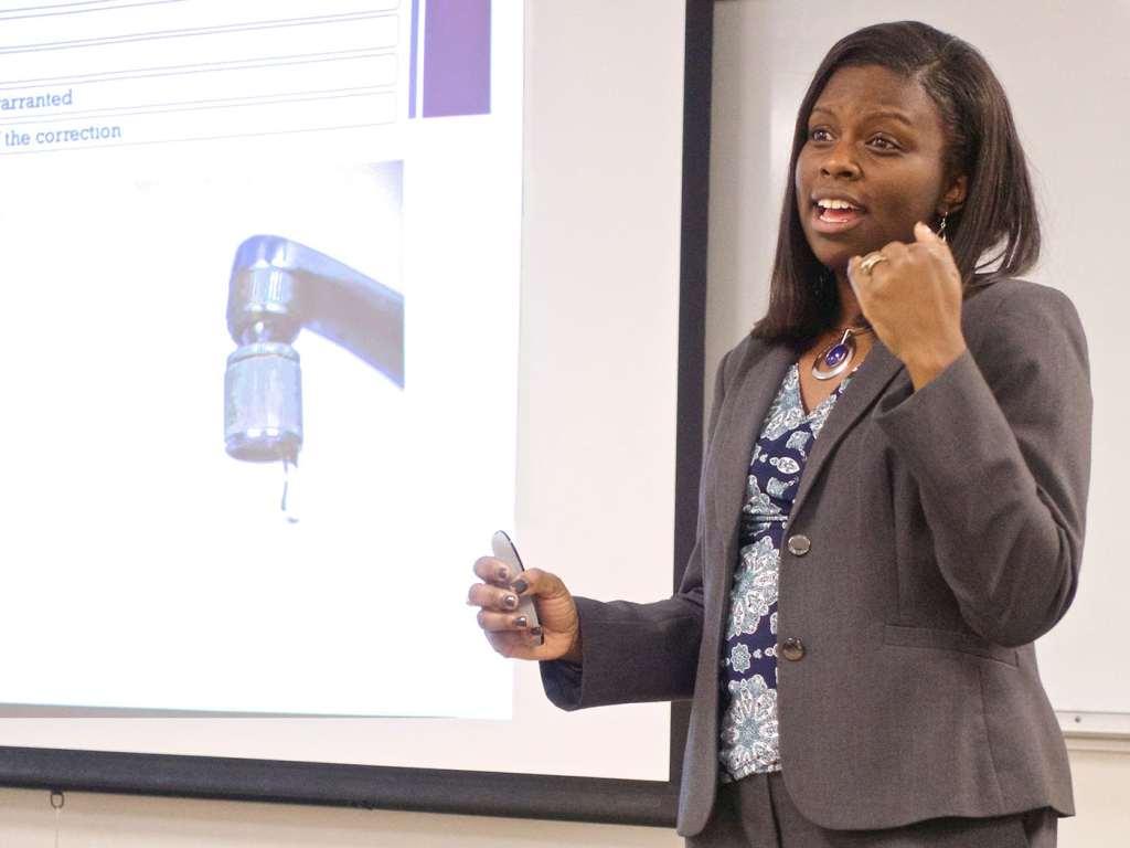 Dr. LaShonda Eaddy, new professor at SMU CCPA