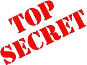 We have a secret!