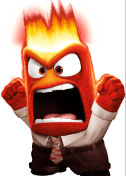 Anger from the movie Inside Out