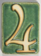 4 green tile
