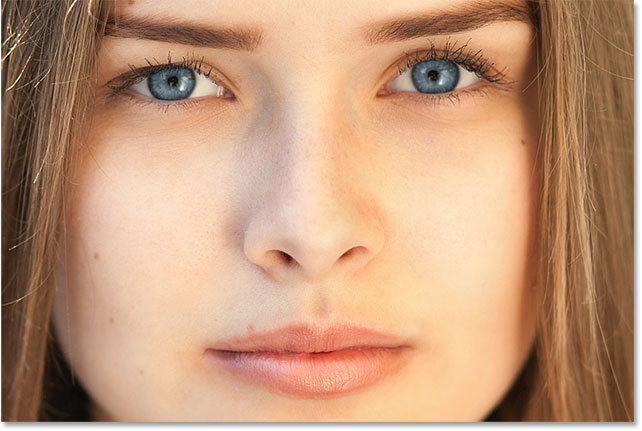 Changing the Color of Eyes Using Photoshop