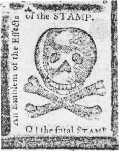 American newspapers reacted to the Stamp Act with anger and predictions of the demise of journalism.