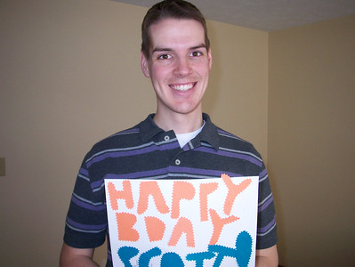 Scott Bean on his birthday