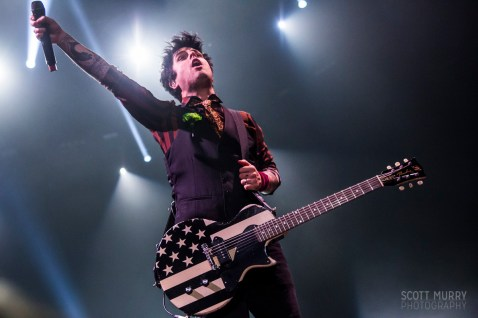 Green Day @ DCU Center on St. Patrick's Day 2017