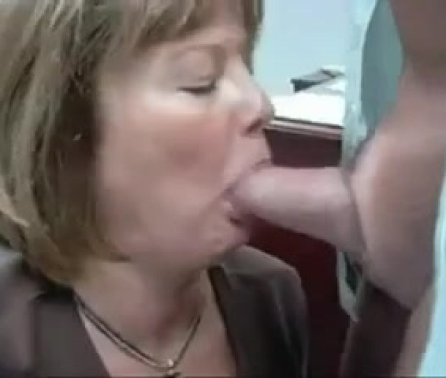 Mature Women Sucks A Dick And Gets Cum In Mouth